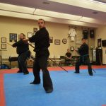 Japanese weapons training at Bujinkan Sonoma Dojo
